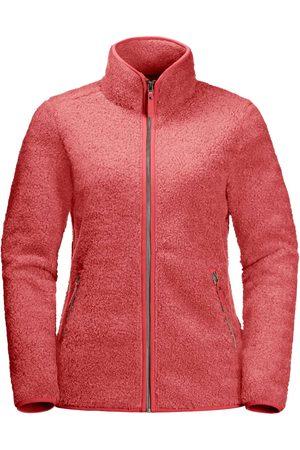 Jack Wolfskin Naiset Fleecetakit - Women's High Cloud Jacket Coral S