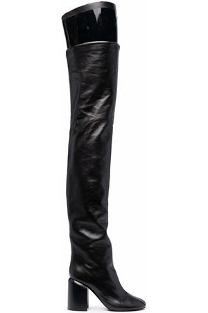 Jil Sander Naiset Ylipolvensaappaat - Over-the-knee leather boots