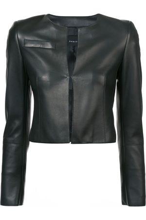 AKRIS Naiset Nahkatakit - Cropped fitted jacket