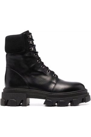 DEE OCLEPPO Naiset Nauhalliset saappaat - Lace-up leather boots