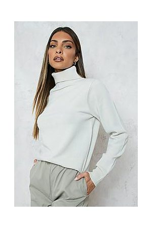 Boohoo Poolopaidat - Roll Neck Knitted Jumper