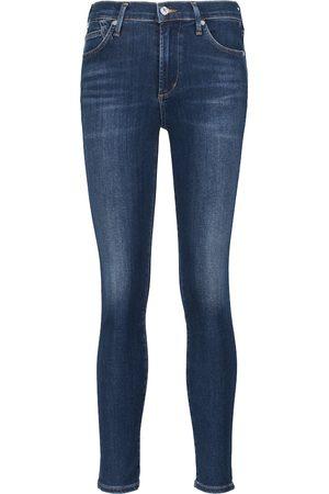 Citizens of Humanity Naiset Skinny - Jeans skinny Rocket Ankle de tiro medio