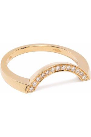 Loyal.e Paris Recycled 18kt yellow Intrépide Grand Arc diamond ring