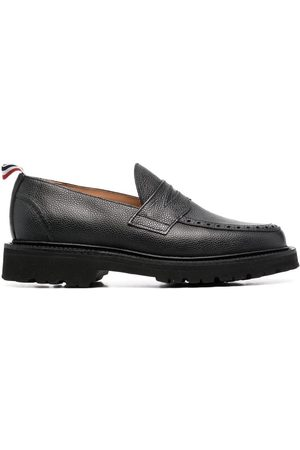 Thom Browne Pebbled penny loafers