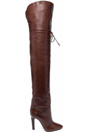Saint Laurent Naiset Ylipolvensaappaat - Jane over the knee boots