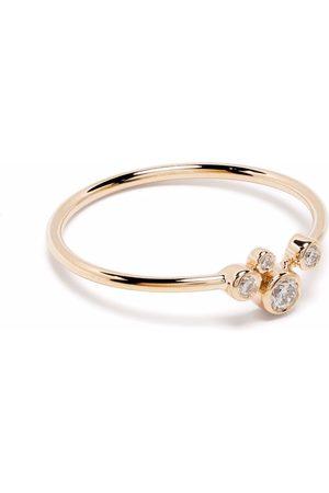 Maria Black Naiset Sormukset - 14kt yellow Elena diamond ring