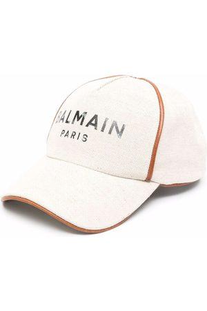Balmain Naiset Hatut - Logo-print cap
