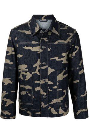 Ports V Farkkutakit - Camouflage-print denim jacket