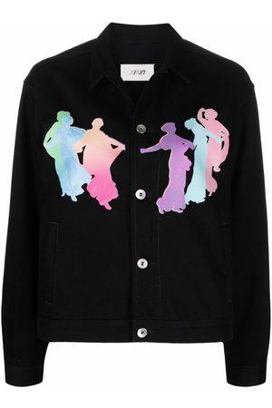 Kirin Naiset Farkkutakit - Muses-motif shirt jacket