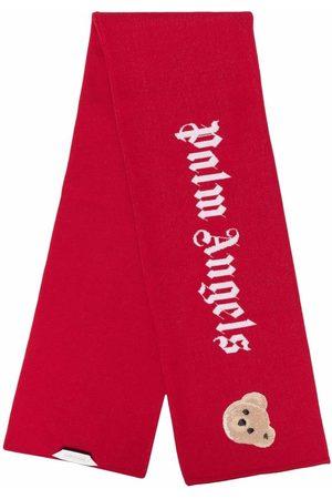 Palm Angels Huivit - Teddy-bear knit scarf