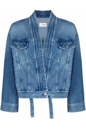 Kirin Kimono denim trucker jacket