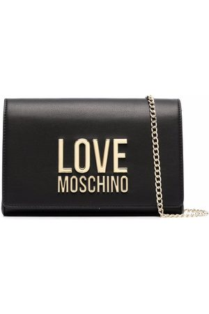 Love Moschino Naiset Olkalaukut - Logo-lettered crossbody bag