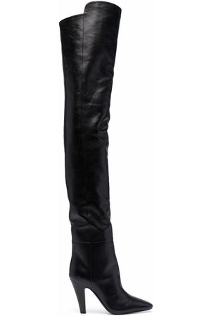 Saint Laurent Naiset Ylipolvensaappaat - Thigh-high boots