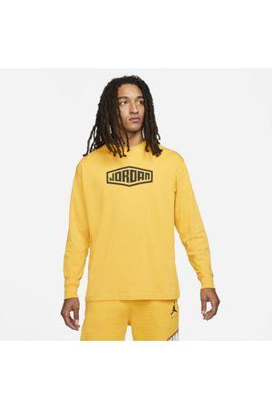 Nike Jordan Sport DNA Men's Long-Sleeve T-Shirt - Yellow
