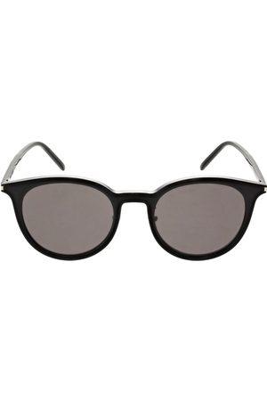 Saint Laurent Naiset Aurinkolasit - Sl 488/k Round Acetate Sunglasses