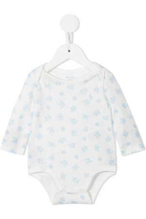 Ralph Lauren Pikee - Polo bear cotton baby grow