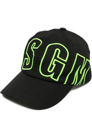 Msgm Naiset Hatut - Logo-print baseball cap