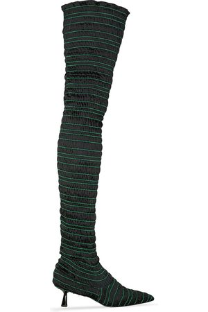 AMY CROOKES Naiset Ylipolvensaappaat - Victorine 60mm knee-high boots