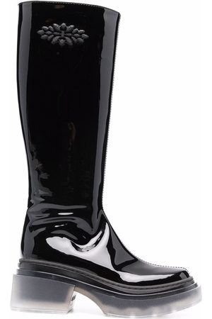 LE SILLA Naiset Saappaat - Lunar patent leather boots
