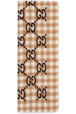 Gucci Huivit - GG jacquard wool scarf