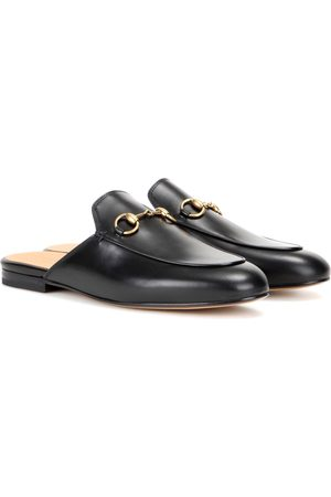 Gucci Naiset Tohvelit - Princetown leather slippers